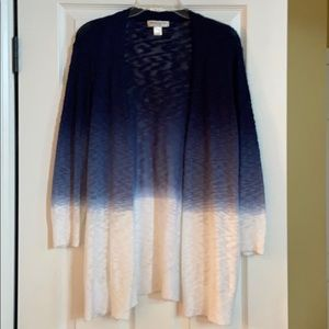 Christopher & Banks Ombre Cardigan Sweater